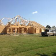 Lack spec house- Kennett, Mo. -Rear view