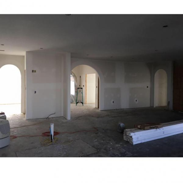 [Image: Sheetrock has been hung and finished. Let Infinite Building Concepts & Design, LLC help you with your next residential or commercial construction project. ]