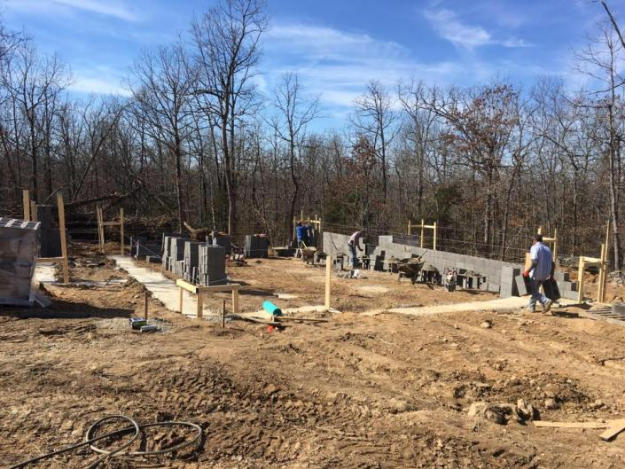 [Image: This house is being built in Imboden, Ar. They are starting to lay the blocks in this picture. Infinite Building Concepts & Design, LLC is more than just a roof over your head. This custom home is one of many projects by Infinite Building Concepts & Design, LLC.]